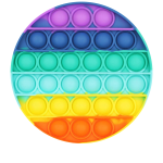 POP IT FIDGET TOY CIRCLE COLOURFUL (BUY 3 FOR R100)