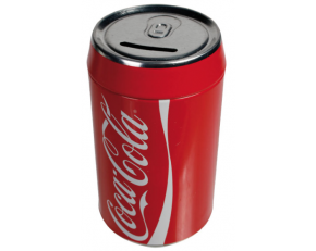 COKE (Coca Cola CAN) MONEY BOX SML 22231