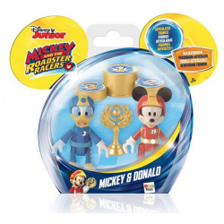 MICKEY MOUSE RACERS FIGURE 2PK MICKEY AND DONALD(DISNEY)