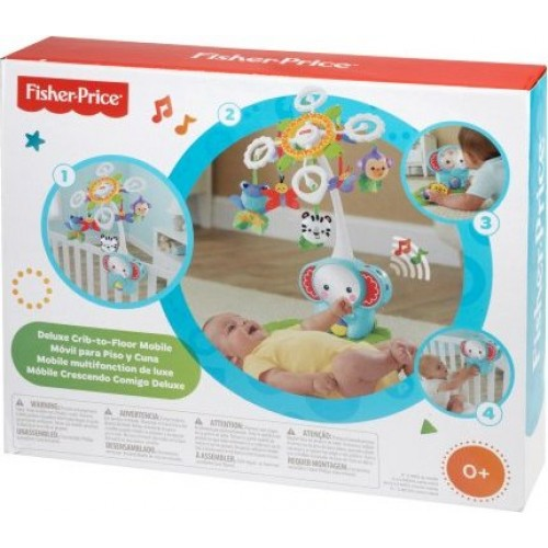FISHER PRICE RAINFOREST CRIB SOOTHER