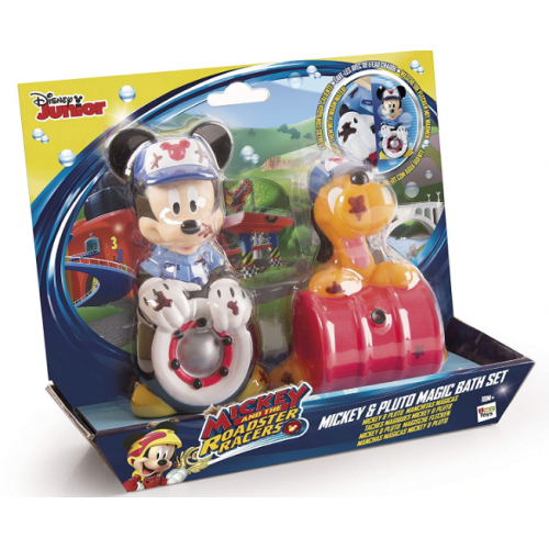 MICKEY MOUSE AND PLUTO MAGIC BATH SET  (DISNEY)