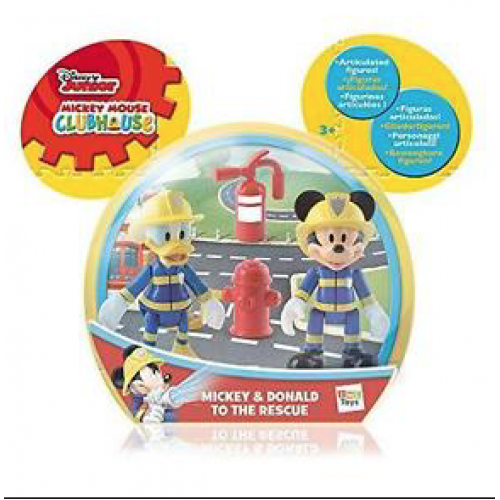MICKEY MOUSE AND DONALD TO THE RESCUE Mickey emergency 2pk (DISNEY)