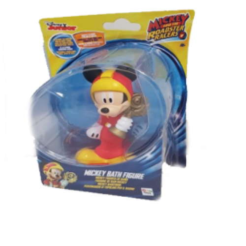 MICKEY MOUSE RACERS FIGURE BATH ASSORTED PACK OF 1 (DISNEY)
